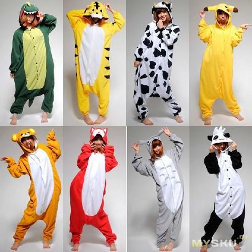 Пижамы в виде животных (кигуруми kigurumi) купить недорого ... a1656ae89160b